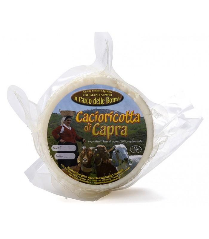 Cacioricotta di Capra stagionato 350gr - Parco delle Bontà Caggiano Summo