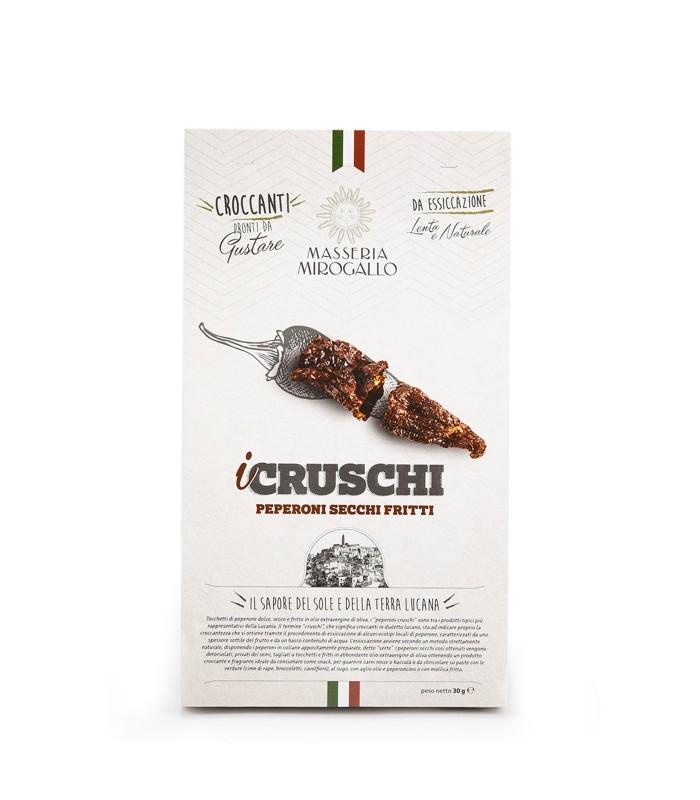 Cruschi - Peperoni secchi fritti 30gr - Masseria Mirogallo