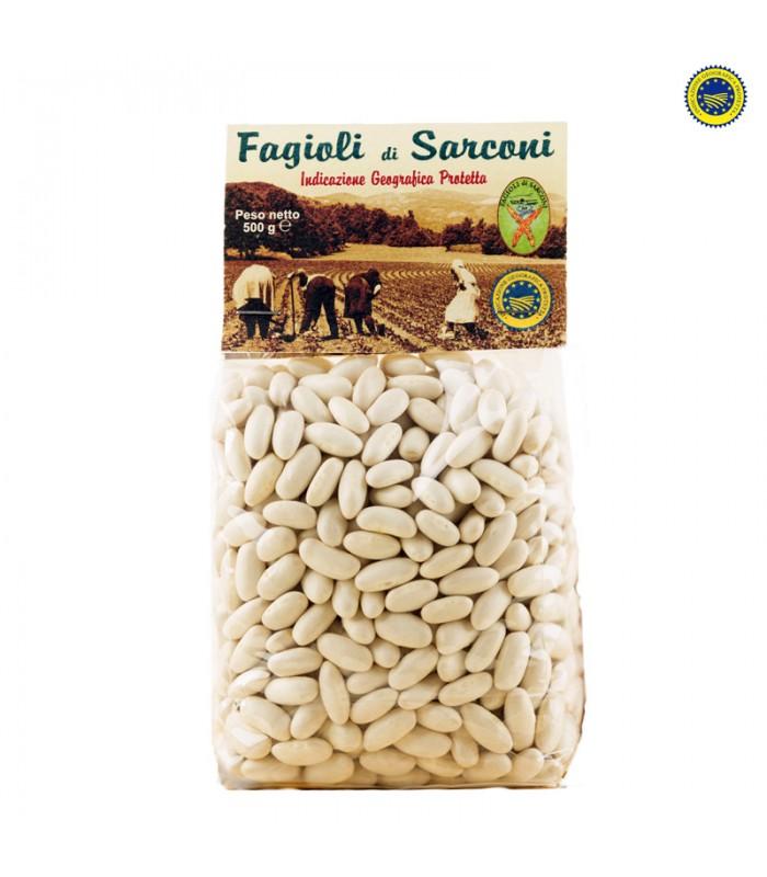 Fagioli di Sarconi IGP - Cannellino 500 gr - Per boschi e contrade