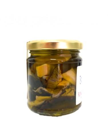 Funghi Cardoncelli in olio extravergine di oliva 185g