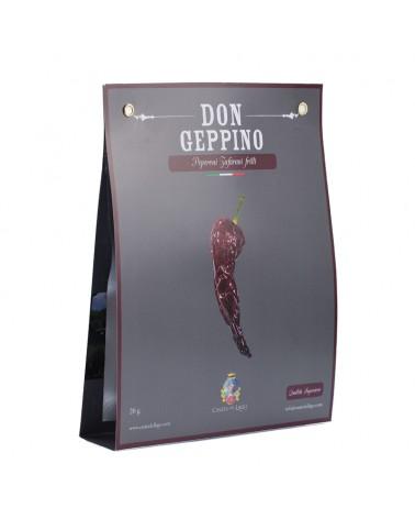 Peperoni cruschi già fritti 25gr - Don Geppino Casata del Lago