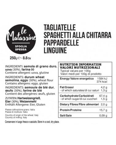 Etichetta pasta