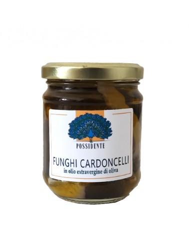 Funghi Cardoncelli in olio extravergine di oliva 185g - Prodotti in Basilicata